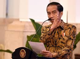 Presiden Joko Widodo apeksi