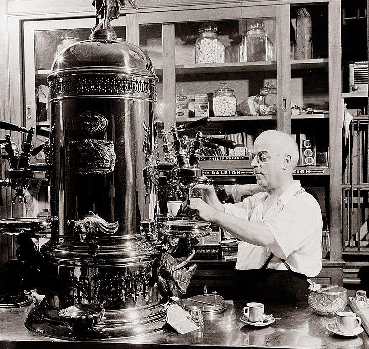 Lịch sử máy pha espresso