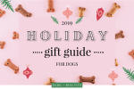 2019 Holiday Gift Guide For Dogs