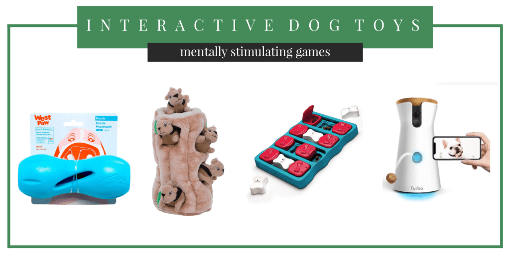 interactive dog puzzle toys