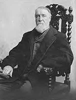 Henry Chadwick, amply-bearded gentleman