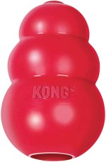 KONG - Classic Dog Toy, Durable Natural Rubber