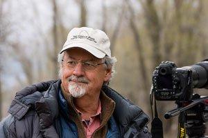 Tom Mangelsen, photo by Victoria Blumberg.
