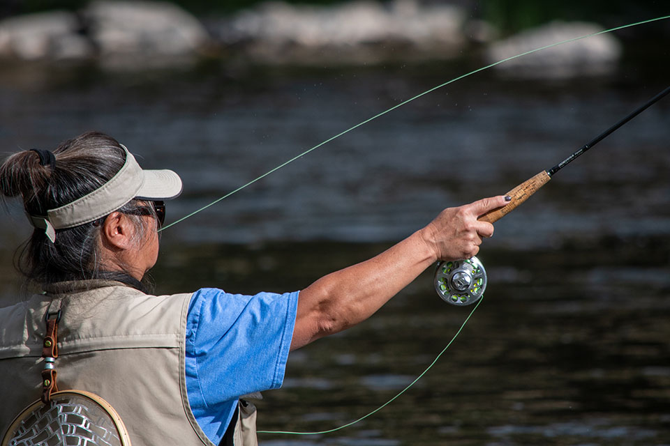 flyfishing - Snake River float trips