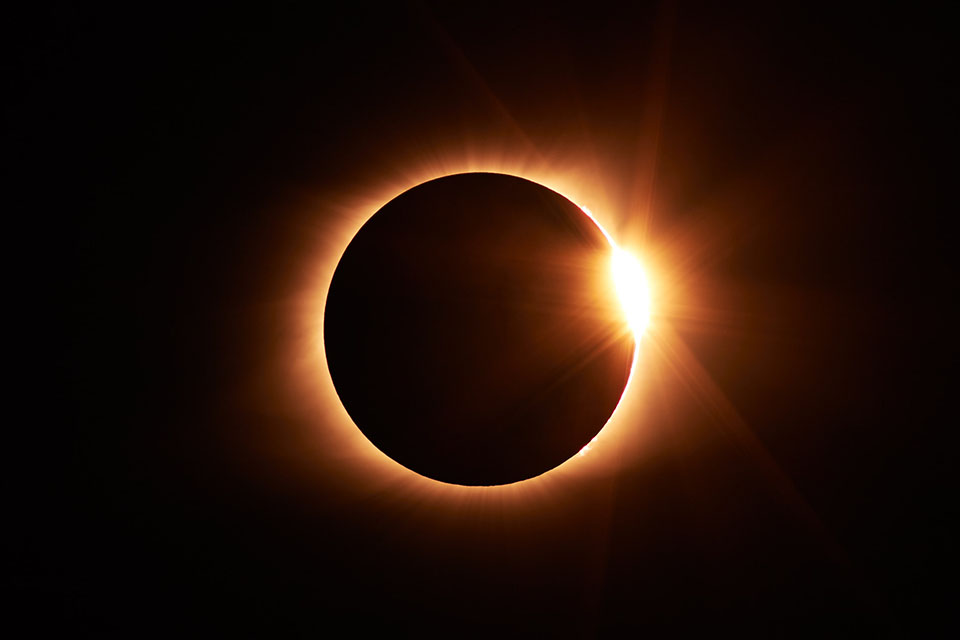 Total Solar Eclipse over Jackson Hole - Barker Ewing float trips