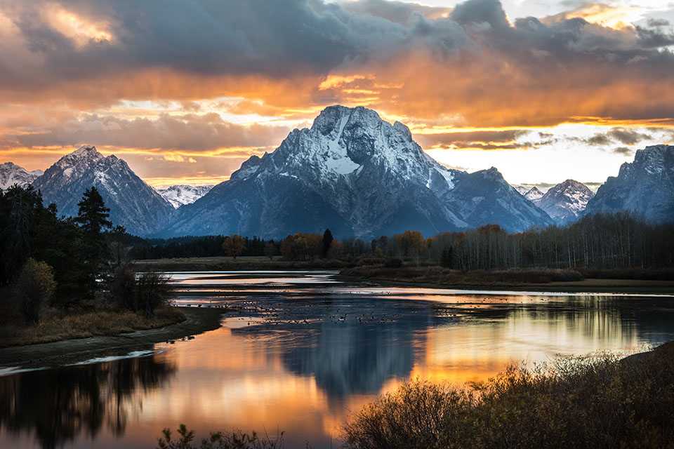 Grand Tetons in Spring - Snake River float trips