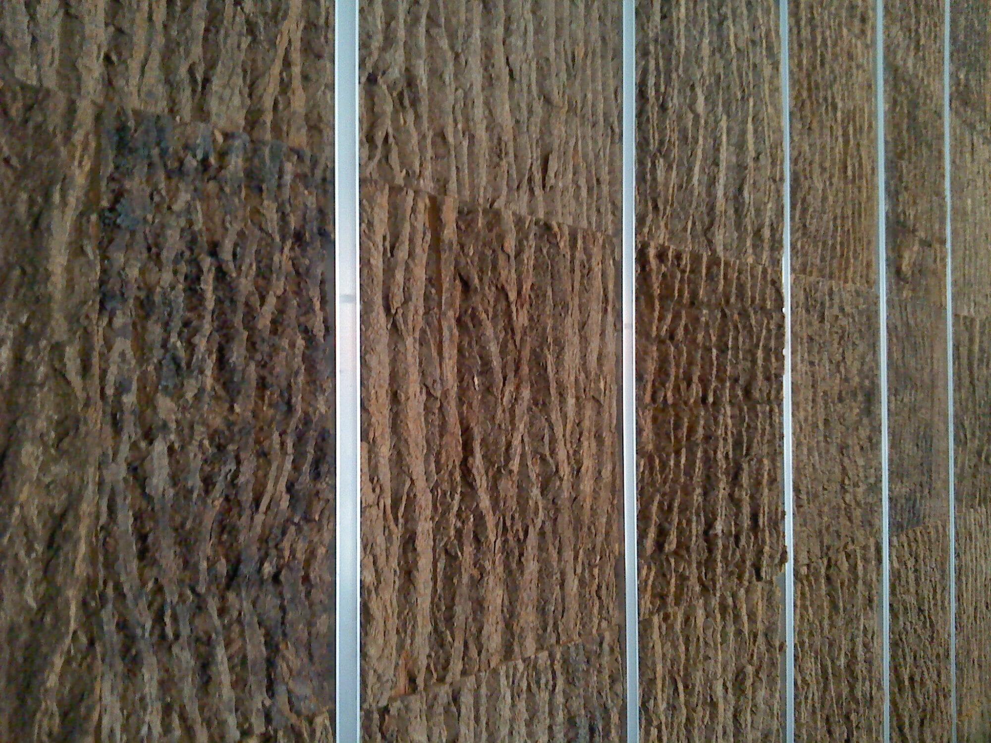 Poplar Bark Exterior And Interior Wall Paneling Bark House