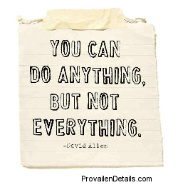anything but not everything quote