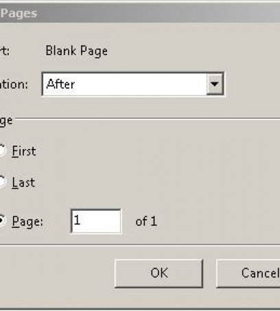 Need Some Space?  Add Blank Pages to Your PDF