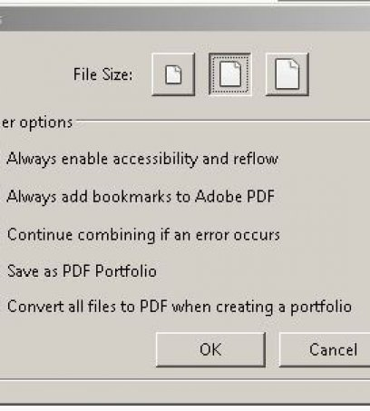 Combining Files With Adobe Acrobat DC