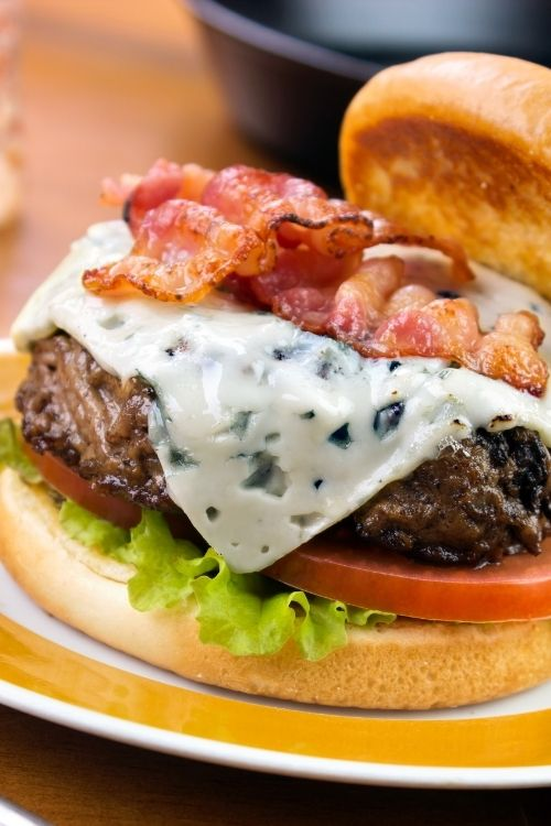 best blue cheese burgers to make.