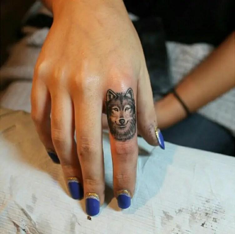 dog tat for finger.