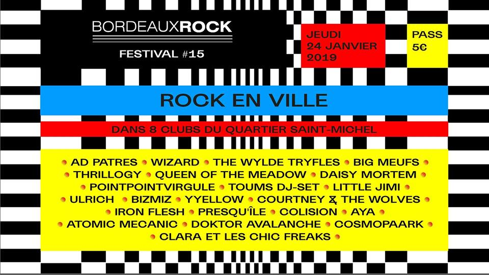 Rock en ville - Festival Bordeaux Rock #15
