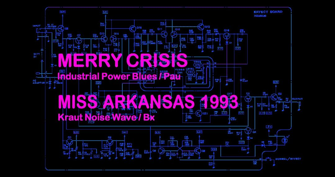 Merry Crisis + Miss Arkansas 1993