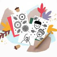 Freebie: Mini Thanksgiving Doodle Books