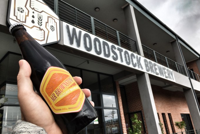 Woodstock Brewery Mr Brownstone