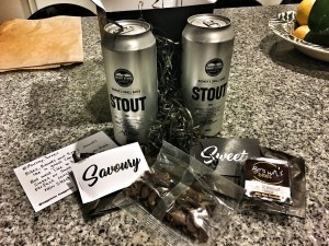 Saggy Stone Brewer's Small Batch Stout 01