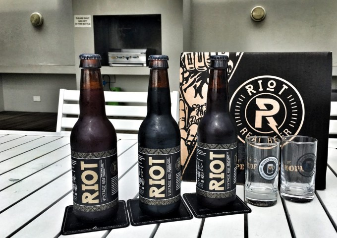 Riot Brewing Vintage Series