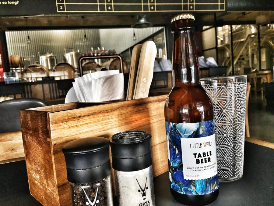 Little Wolf Table Beer
