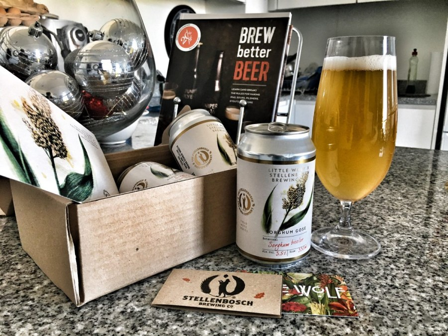 Little Wolf x Stellies Brewing Sorghum Gose