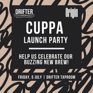 Drifter Brewing Co Cuppa Launch