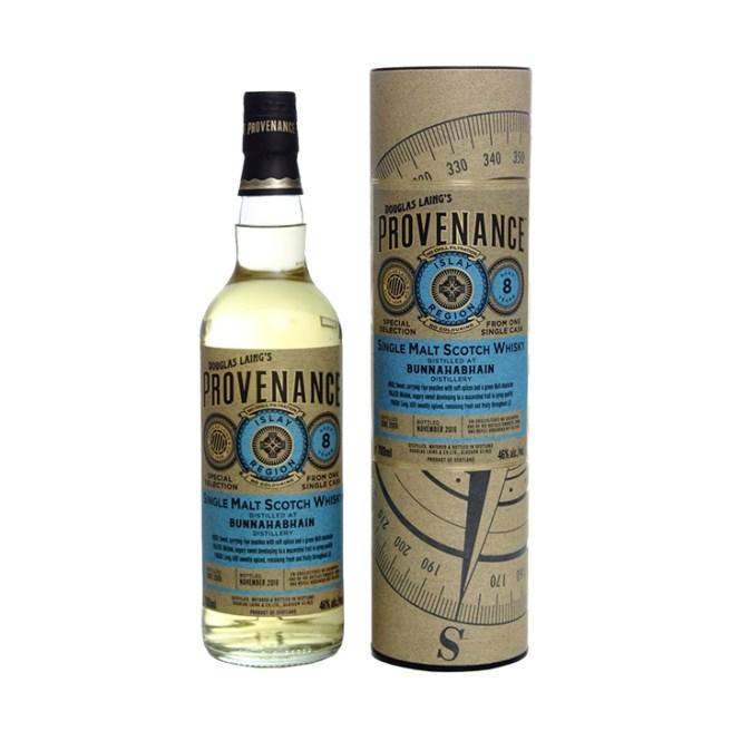 Bunnahabhain 8yo by Douglas Laing's Provenance (Single Malt Islay Scotch Whisky Cask Bottling Peaty Tasting Notes)