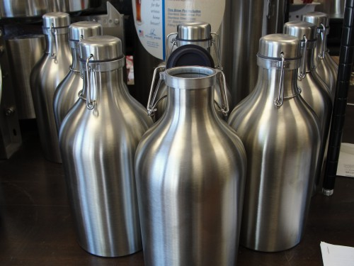 Stainless Steel Growlers