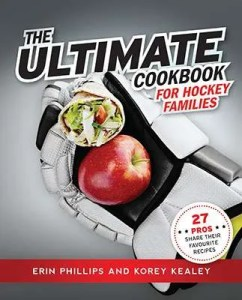 The Ultimate Cookbook For Hockey Families - book cover