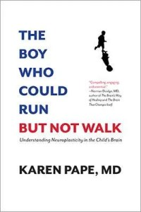 The Boy Who Could Run But Not Walk - book cover