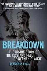 Breakdown - book cover