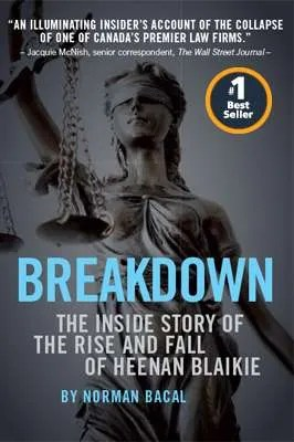Breakdown - book cover