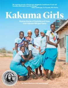 Kakuma Girls - Book cover with IBPA Silver icon
