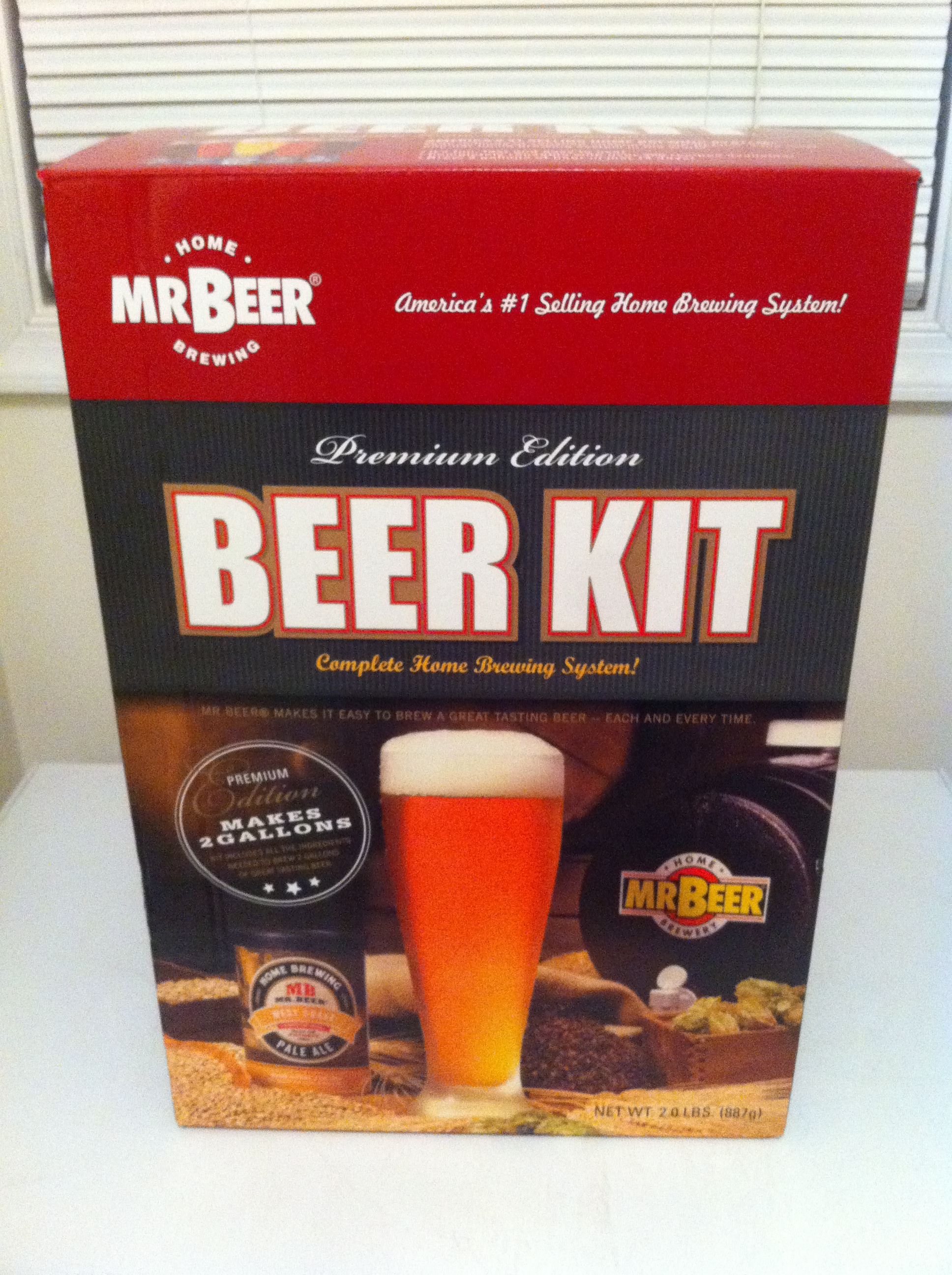 Mr beer premium gold edition home brew kit