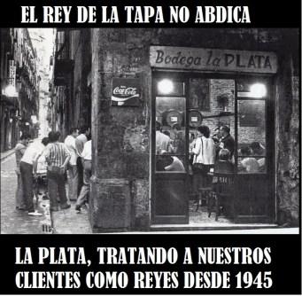 La Plata, fundadores, barcelona, restaurant, bar, rey de las tapas, food, tavern