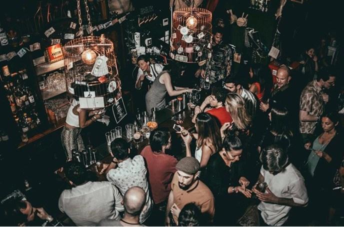 Café Klandestino Cocktail Bar en Lisboa