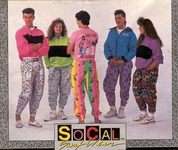 moda anos 80