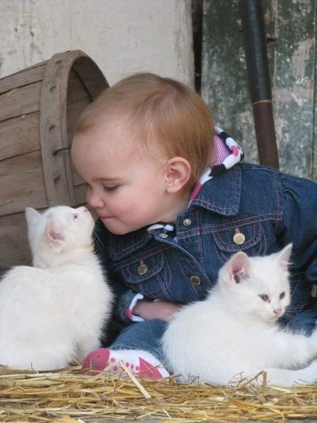 cute pets with children 13