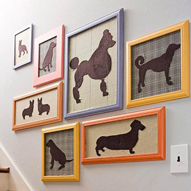 dog pictures easy DIY