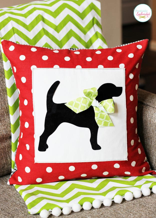 dog custom pillow