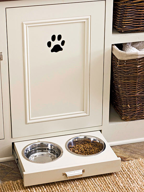 cut out paw kitchen solution