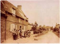 Barnby in the Willows Front Street 1910