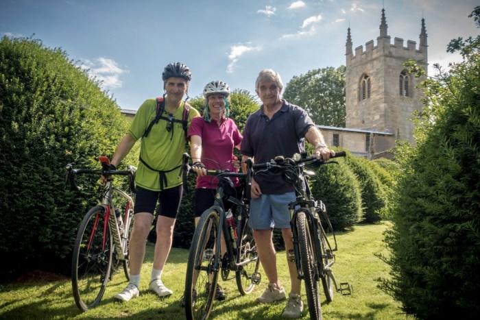 Barnby Pedal Pushers - Paul, Janine & Clem