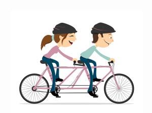 Organisasjonsmodell er to som sykler på en sykkel