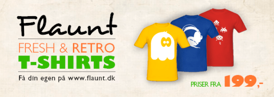 flaunt fresh retro t-shirts