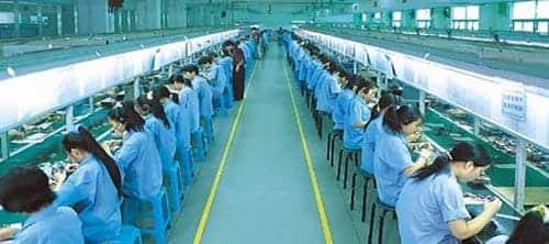 Apple i CSR-krise, her Foxconns fabrik