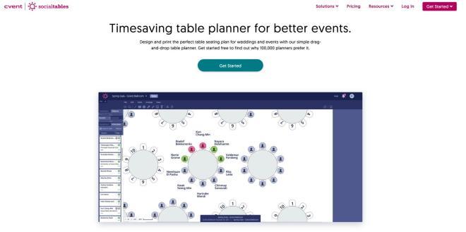 socialtables bordplan online