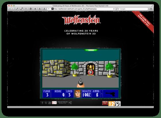 wolfenstein 3d gratis online spil