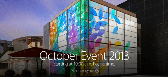 octorber event 2013 - apple keynote colors building