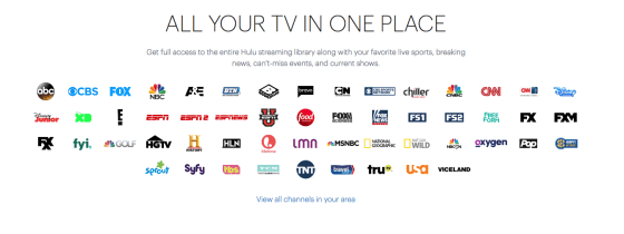 Hulu i Danmark, streaming, tv, live tv