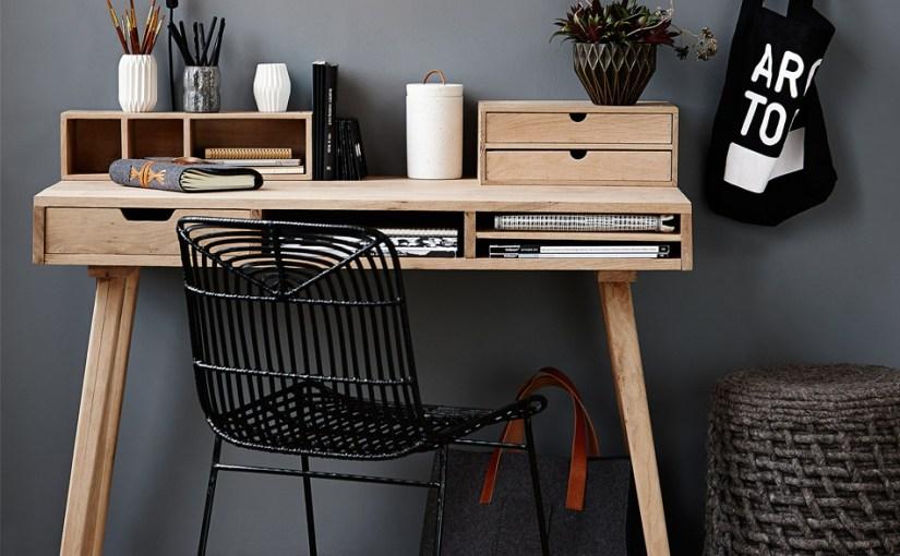 Lækre billige designerskriveborde til hjemmekontoret